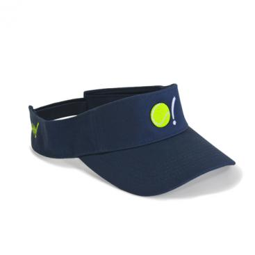 Visor - Marina with Tennis Ball in Neon Yellow