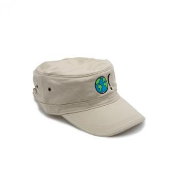 Corps Cap - Stone with Earth Symbol in Multi